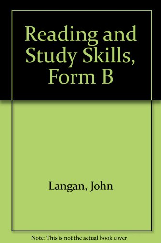 9780070363465: Reading and Study Skills, Form B