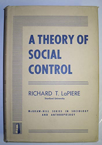 9780070363656: A Theory of Social Control