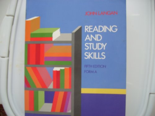 9780070363830: Reading and Study Skills: Form A