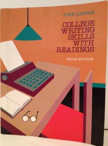 9780070363847: College Writing Skills with Readings, 3rd Edition