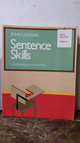 9780070363960: Sentence Skills: A Workbook for Writers : Form A
