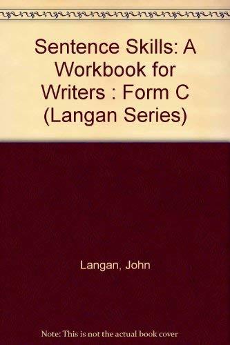 9780070364240: Sentence Skills: A Workbook for Writers : Form C (Langan Series)