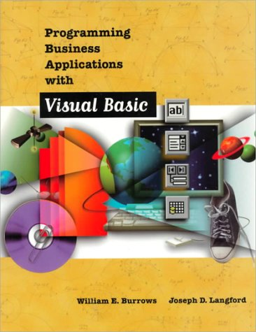 9780070364356: Programming Business Applications with Visual Basic