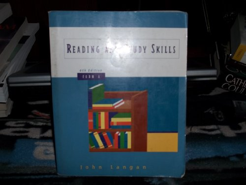 9780070364400: Reading and Study Skills, Form A