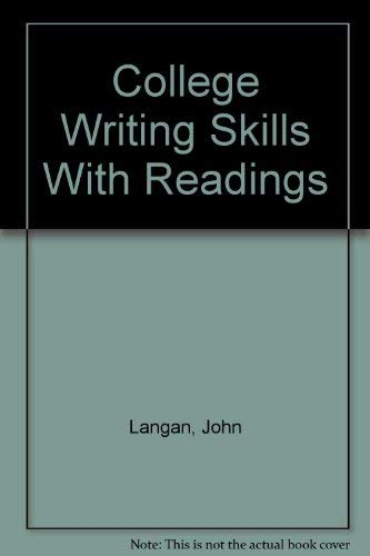 9780070364592: College Writing Skills With Readings
