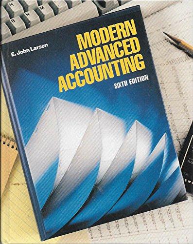 9780070365957: Modern Advanced Accounting