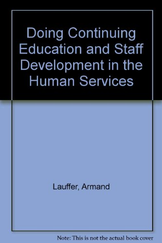 9780070366244: Doing Continuing Education and Staff Development in the Human Services