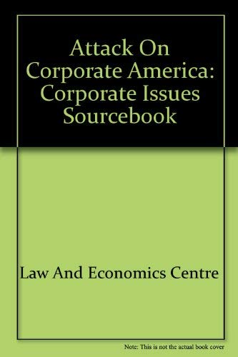 9780070366930: Attack on Corporate America: Corporate Issues Sourcebook