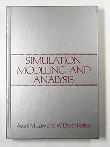 9780070366961: Simulation Modelling and Analysis (McGraw-Hill series in industrial engineering and management science)