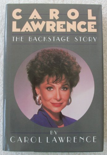 9780070367241: Carol Lawrence: The Backstage Story