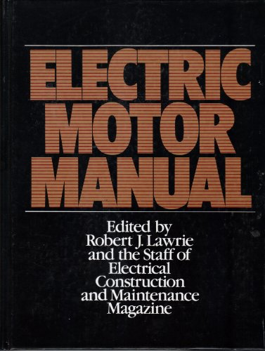 9780070367302: Electric Motor Manual