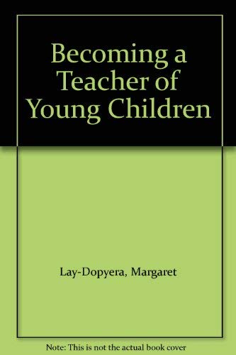 9780070367777: Becoming a Teacher of Young Children