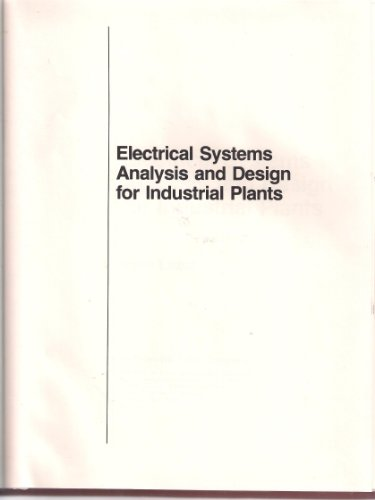 9780070367890: Electrical Systems Analysis and Design for Industrial Plants