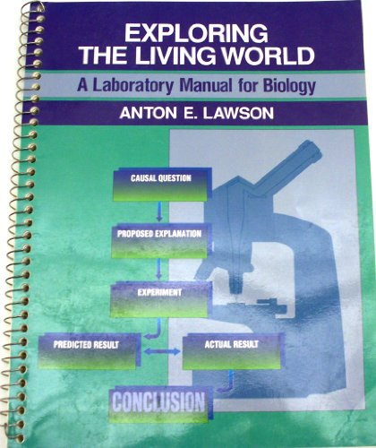 9780070367913: Exploring the Living World: A Laboratory Manual for Biology
