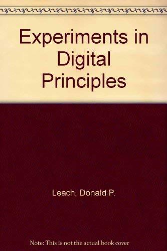 9780070369184: Experiments in Digital Principles