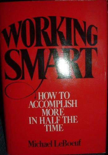 9780070369498: Working Smart