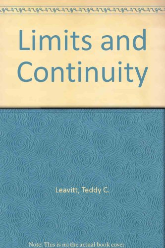 9780070369610: Limits and Continuity