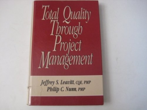 9780070369801: Total Quality Through Project Management