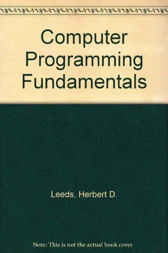 9780070369948: Computer Programming Fundamentals