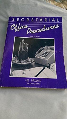 9780070370371: Secretarial Office Procedures