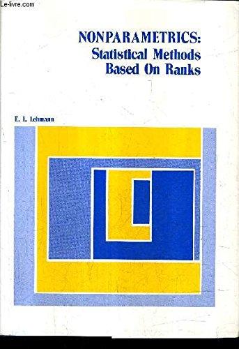 9780070370739: Nonparametrics: Statistical Methods Based on Ranks