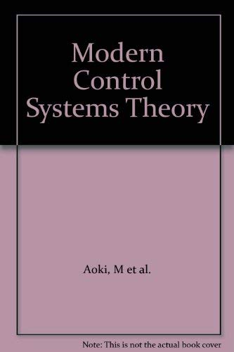 9780070371927: Modern Control Systems Theory