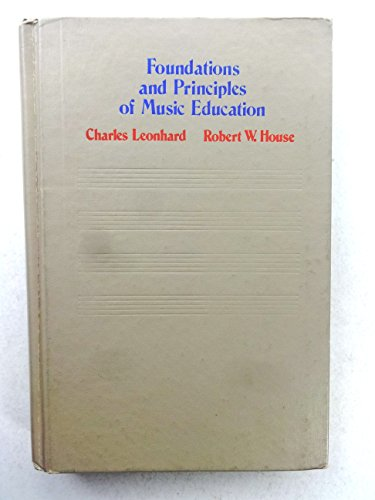 9780070371996: Foundations and Principles of Music Education