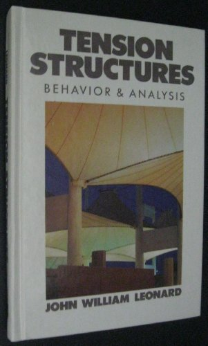 9780070372269: Tension Structures: Behavior and Analysis