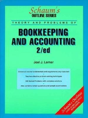 9780070372313: Schaum's Outline of Theory and Problems of Bookkeeping and Accounting