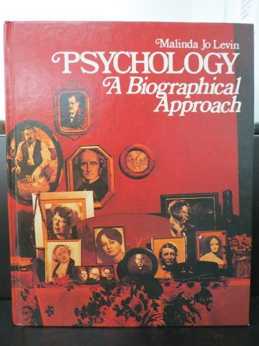 9780070373877: Psychology: A Biographical Approach