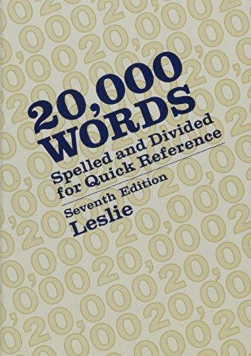 9780070373938: 20, 000 Words