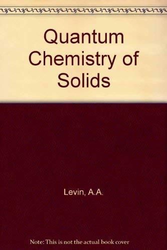 9780070374355: Quantum Chemistry of Solids