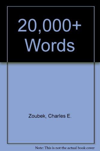 9780070374638: 20,000+ Words