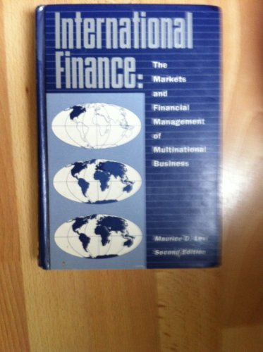 9780070374836: International Finance: Financial Management and the International Economy