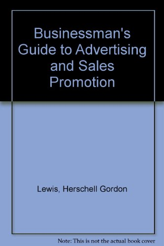 9780070375260: Businessman's Guide to Advertising and Sales Promotion