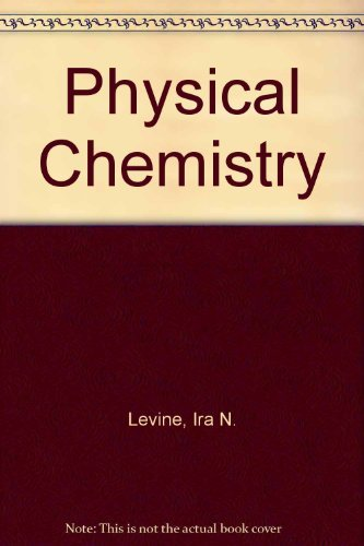 9780070375284: Physical Chemistry