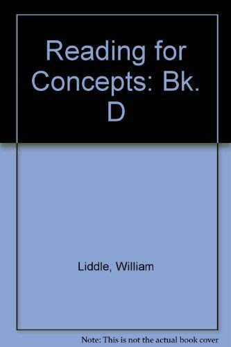 Reading for Concepts : Bks. A-H: Liddle, William