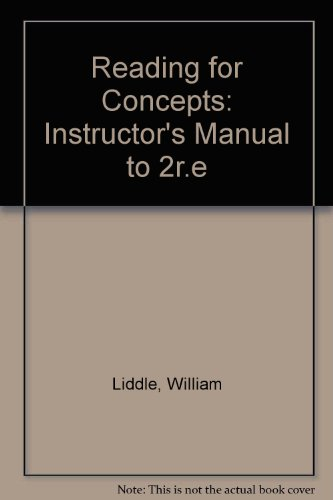 9780070376687: Reading for Concepts Book E