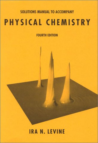 9780070376861: Solutions Manual to Accompany Physical Chemistry