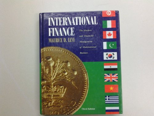 9780070376878: International Finance: Financial Management and the International Economy (Mcgraw Hill Series in Finance)