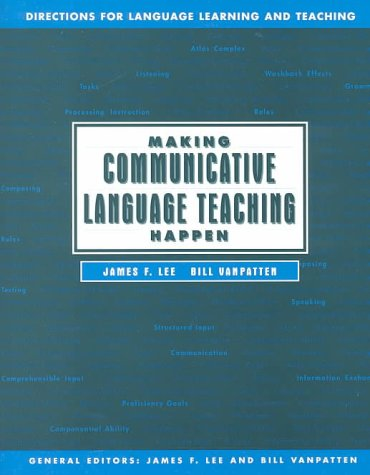 9780070376939: Making Communicative Language Happen (Directions for Language Learning and Teaching, Vol 1)