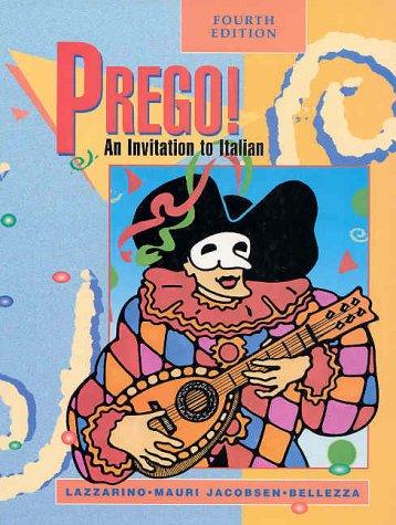 9780070377226: Prego!: An Invitation to Italian