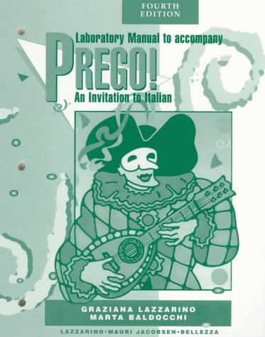 9780070377257: Prego! An Invitation to Italian (4th Edition Laboratory Manual)