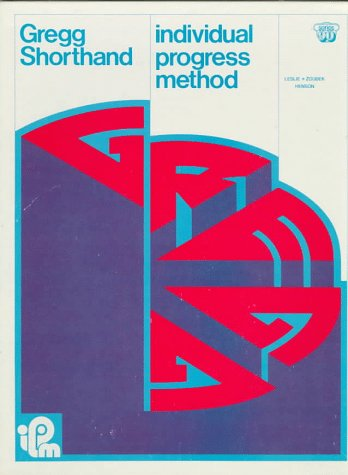 9780070377776: Gregg Shorthand Individual Progress Method (Series 90)