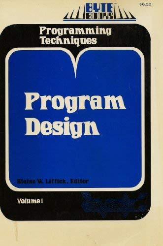 9780070378254: Programming Techniques: Program Design v. 1