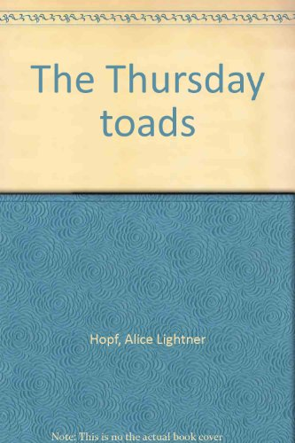 9780070378339: The Thursday toads