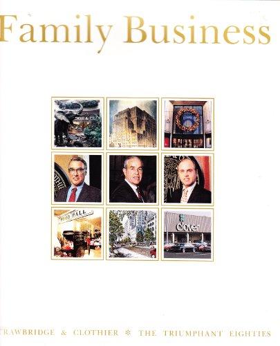 9780070378377: Family Business Volume 3 (Strawbridge & Clothier * The Triumphant Eighties)