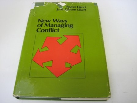 9780070378421: New Ways of Managing Conflict