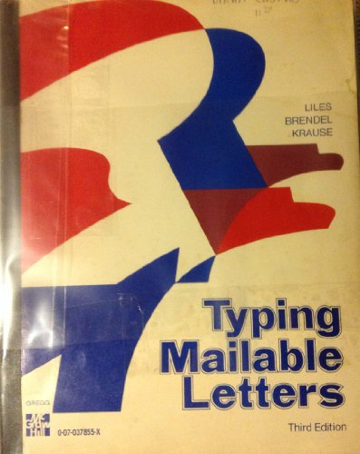 9780070378551: Typing Mailable Letters