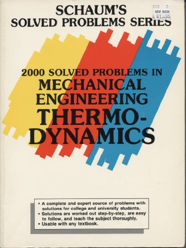 9780070378636: 2000 Solved Problems in Mechanical Engineering Thermodynamics